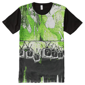 Television Zombies - All Over Priint Shirt