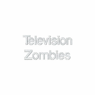 Television Zombies Embroidered Jacket