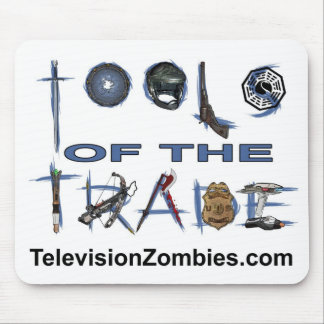 Television Zombies mousepad