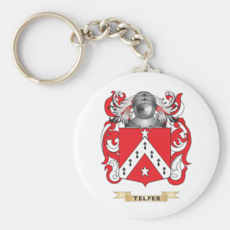 Telfer Family Crest (Coat of Arms) Keychain