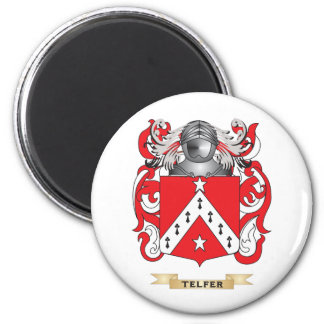 Telfer Family Crest (Coat of Arms) Refrigerator Magnet