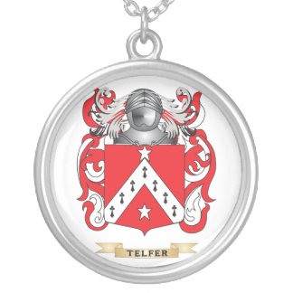 Telfer Family Crest (Coat of Arms) Necklaces