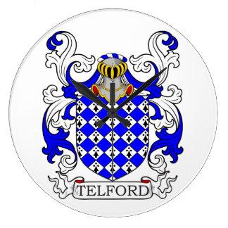 Telford Coat of Arms Wallclock
