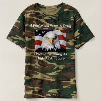 Tell about your patriotism t-shirt