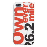 Tell everyone your a marathon runner! iPhone 5 cases