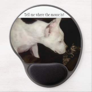 Tell me where the mouse is! Mousepad Gel Mouse Pad