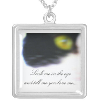Tell Me You Love Me Cat Necklace