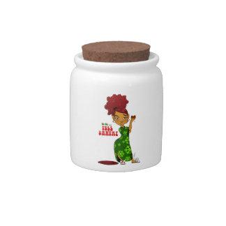 Tell Santa Cookie Jar Candy Jars