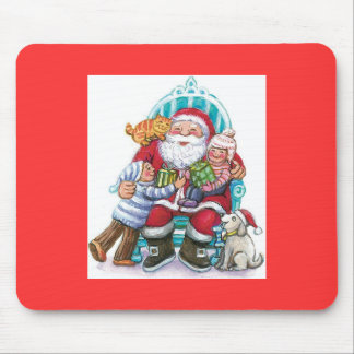 Tell Santa What You Want Mouse Pad