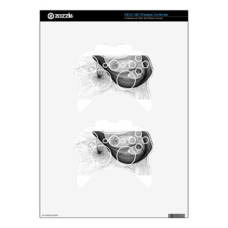 tell tale xbox 360 controller decal