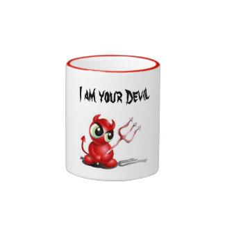 Tell the Truth. You are Devil! Ringer Mug