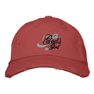 Tell the world that you're God's Girl! Embroidered Baseball Cap