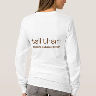 Tell Them Large Bee Front Thin Hoodie