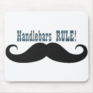 Tell them who rules -Handlebar Moustache mouse pad