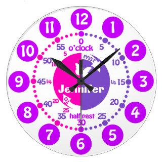 Learning Wall Clocks | Zazzle