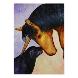 Tell You A Secret ACEO Art Trading Cards Large Business Card