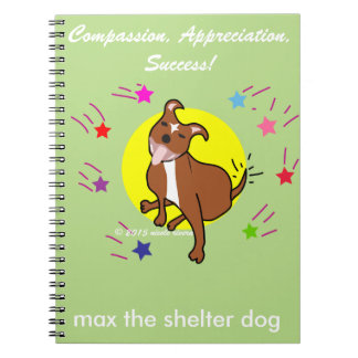 Tell Your Story w/ Max's Spiral Notebook