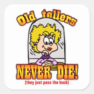 Tellers Square Sticker