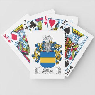 Tellesio Family Crest Poker Cards
