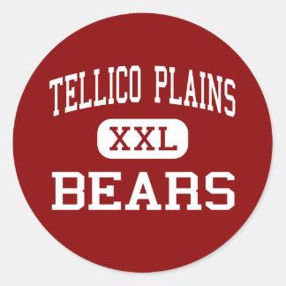 Tellico aclara - los osos - el alto - llanos de pegatina redonda