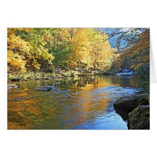 """Tellico in Autumn"" Card"