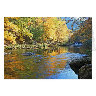 """""""Tellico in Autumn"""" Stationery Note Card"""