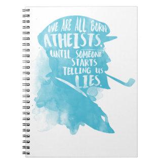 Telling Us Lies Spiral Notebook