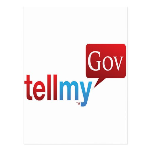 TellMyGov Products Please support our efforts Postcard