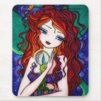 """Tellulah's Treasures"" Mermaid Fantasy Fairy Mouse Pad"