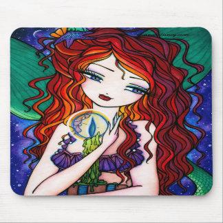 """Tellulah's Treasures"" Mermaid Fantasy Fairy Mousepad"