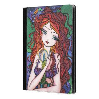 Tellulah's Treasures Red Head Mermaid Fantasy Art