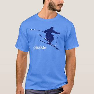 Telluride Blue Snow Ski T-Shirt