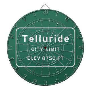 Telluride Colorado co Interstate Highway Freeway : Dart Board