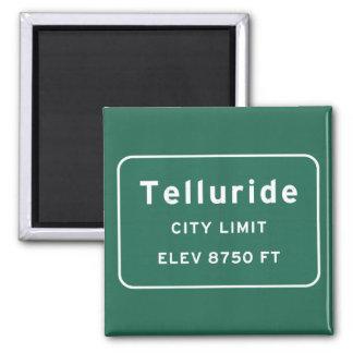 Telluride Colorado co Interstate Highway Freeway : Magnet