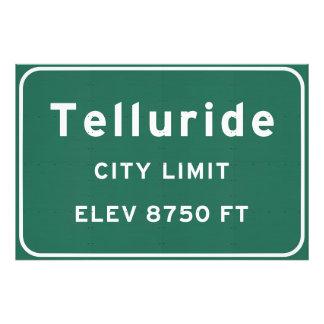 Telluride Colorado co Interstate Highway Freeway : Photo Print