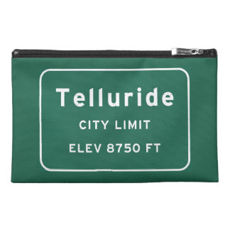 Telluride Colorado co Interstate Highway Freeway : Travel Accessory Bag