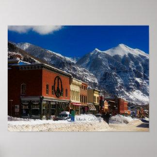 Telluride, Colorado landscape photograph Poster