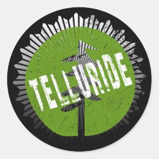 Telluride Decay Logo Sticker