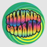 Telluride Hippy Trippy Sticker