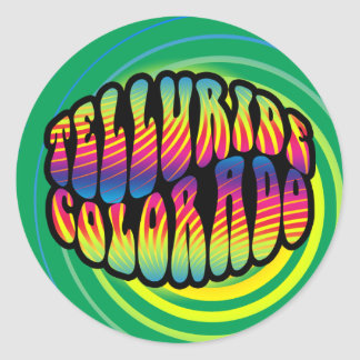 Telluride Hippy Trippy Sticker