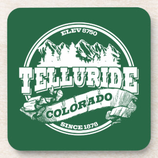 Telluride Old Circle Green Coaster