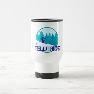 Telluride Ski Circle 15 Oz Stainless Steel Travel Mug