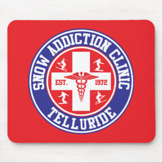 Telluride Snow Addiction Clinic Mouse Pad