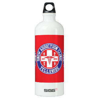 Telluride Snow Addiction Clinic SIGG Traveler 1.0L Water Bottle