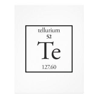 Tellurium Full Color Flyer