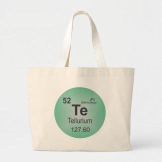 Tellurium Individual Element of the Periodic Table Bags