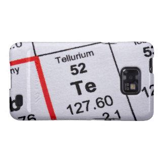 Tellurium molecular formula galaxy s2 case