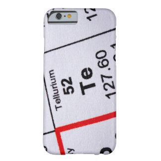 Tellurium molecular formula barely there iPhone 6 case