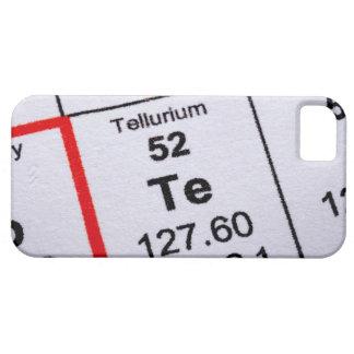 Tellurium molecular formula iPhone SE/5/5s case