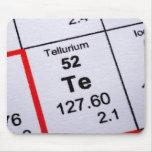 Tellurium molecular formula mouse pad